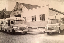 history of Mr Whippy Soft Icecream
