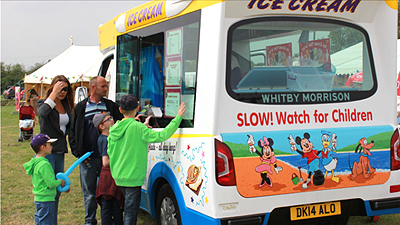 ice cream van hire cambridgeshire